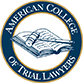 American College of Trial Lawyers logo