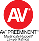 AV preeminent reviews logo